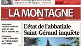 Articles La Montagne – 20 juillet 2018