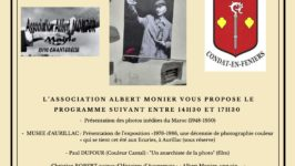 Un autre regard sur Albert Monier Condat 30 juillet 2021
