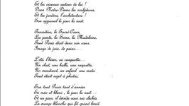 Poème en l'honneur d'Albert Monier